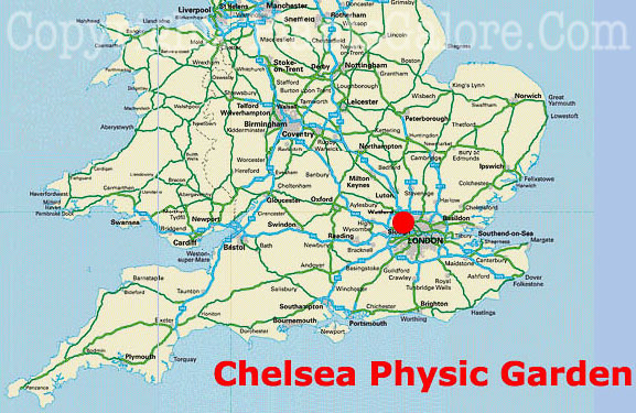Chelsea England Map ~ CVLN RP