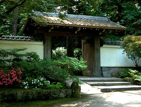 Portland japanese garden usa gardens parks squares for Typical japanese garden plants
