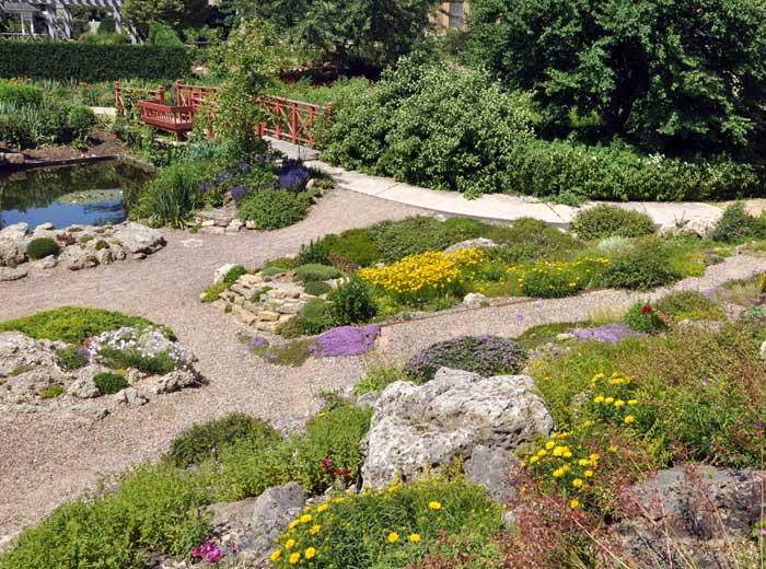 Allen Centennial Gardens Usa Gardens Parks Squares