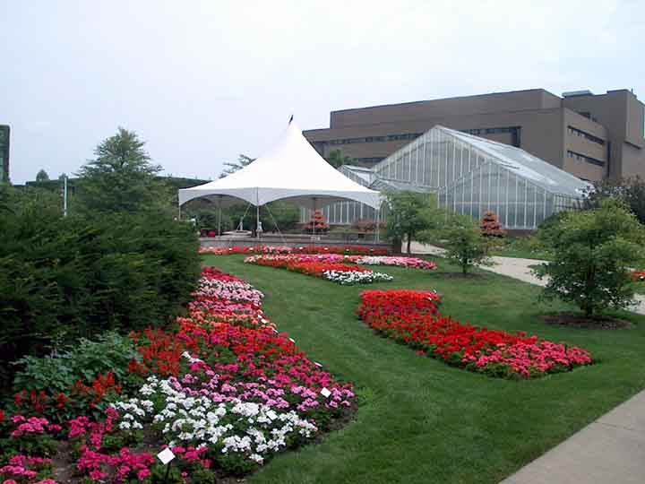 Horticultural Display Gardens At Michigan State University Usa Gardens Parks Squares And