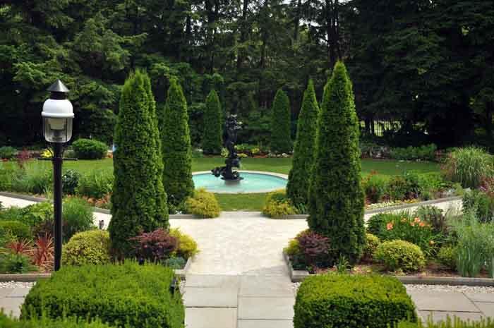 Princeton University Garden Images