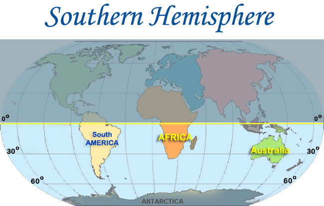 Types map of the southern hemisphere ornamental plant types map of the southern hemisphere ornamental plant information from plantsgalore gumiabroncs Gallery