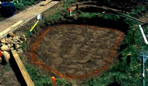 Digging a backyard pond 28 images ponds 101 premier for Digging a garden pond